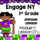 Engage NY 1st Grade Math Module 4 Lesson 27 SmartBoard