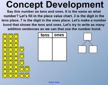 Engage NY 1st Grade Math Module 4 Lesson 4 SmartBoard
