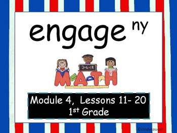 Engage NY, 1st Grade Math, Module 4, Lessons 11-20, Intera