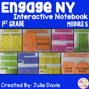 Engage NY 1st Grade Math Module 5 Interactive Notebook