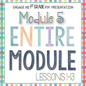 Engage NY 1st Grade Math Module 5 PDF Presentations ENTIRE MODULE Lessons 1-13