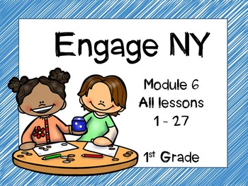 Engage NY, 1st Grade Math, Module 6, Interactive PowerPoints