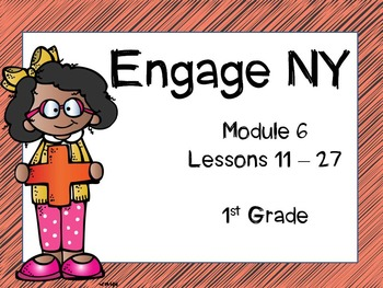 Engage NY, 1st Grade Math, Module 6, Lessons 11 - 27, Interactive PowerPoints