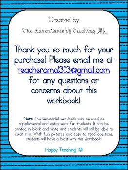 Engage NY 1st Grade Module 1 Workbook