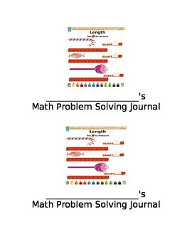 Engage NY: 1st Grade Module 3 Application Problem booklet