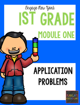 Engage NY 1st Grade Module 1 Application Problems