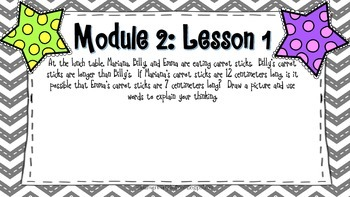 Engage NY 2nd Grade Application Problems, Module 2
