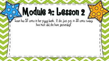 Engage NY 2nd Grade Application Problems, Module 4