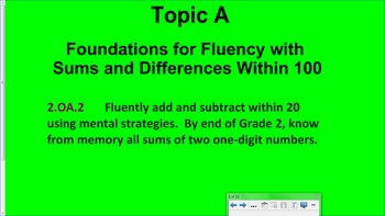 Engage NY 2nd Grade Common Core Math Module 1-Topic A