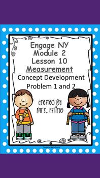 Engage NY 2nd Grade Math Module 2 Lesson 10 Concept Development Problem 1 & 2