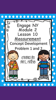 Engage NY 2nd Grade Math Module 2 Lesson 10 Concept Develo