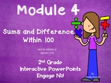 Engage NY, 2nd Grade Math, Module 4, Lessons 1- 31, PowerPoints