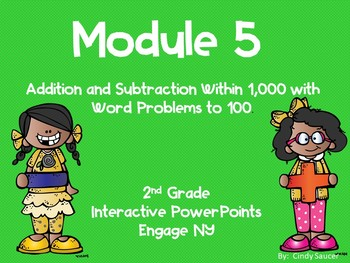Engage NY, 2nd Grade Math, Module 5, Lessons 1- 20, PowerPoints