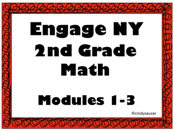 Engage NY, 2nd Grade Math, Modules 1 - 3, Interactive PowerPoints
