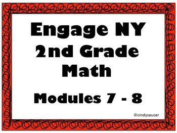 Engage NY, 2nd Grade Math, Modules 7 - 8, Interactive PowerPoints