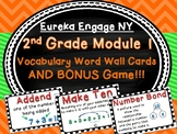 Eureka Engage NY 2nd Grade Module 1 Math Vocabulary Cards and Game