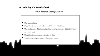 Engage NY 2nd Grade Module 11 - Immigration - Lesson 4