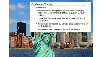 Engage NY 2nd Grade Module 11 - Immigration - Lesson 6