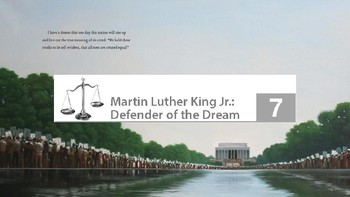 Engage NY 2nd Grade Module 12 - Martin Luther King Jr. - Lesson 7