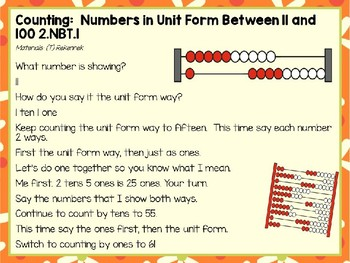 Engage NY (Eureka Math) Presentation 2nd Grade Module 3 Lesson 11
