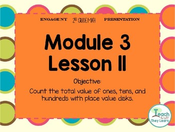 Engage NY Smart Board 2nd Grade Module 3 Lesson 11