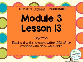 Engage NY Smart Board 2nd Grade Module 3 Lesson 13