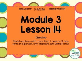 Engage NY (Eureka Math) Presentation 2nd Grade Module 3 Lesson 14
