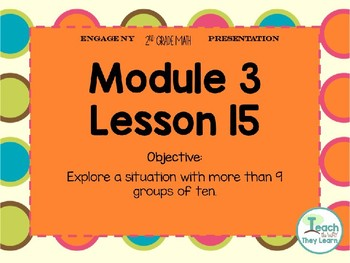 Engage NY Smart Board 2nd Grade Module 3 Lesson 15