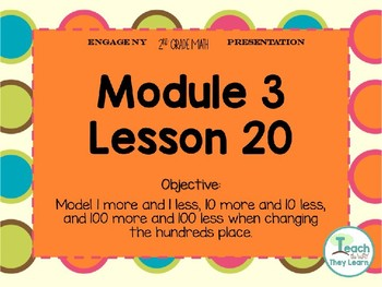 Engage NY Smart Board 2nd Grade Module 3 Lesson 20
