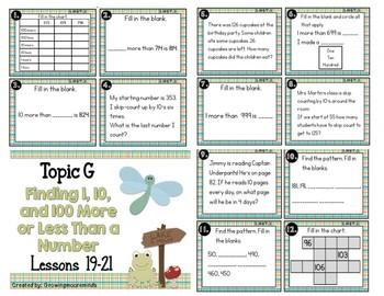 Engage NY Module 3 Math Task Cards 2nd Grade