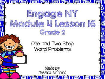 Engage NY 2nd Grade Module 4 Lesson 16