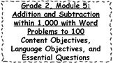 Engage NY 2nd Grade, Module 5 Content & Language Objectives, Essential Questions