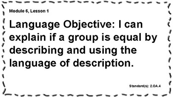 Engage NY 2nd Grade, Module 6 Content & Language Objectives, Essential Questions