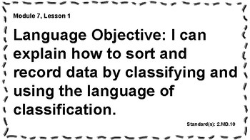 Engage NY 2nd Grade, Module 7 Content & Language Objectives, Essential Questions