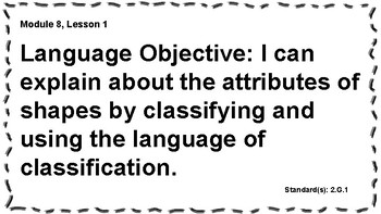 Engage NY 2nd Grade, Module 8 Content & Language Objectives, Essential Questions