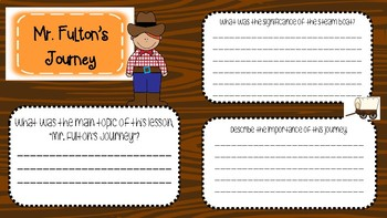 Engage NY 2nd Grade Westward Expansion Interactive Journal - BUNDLE