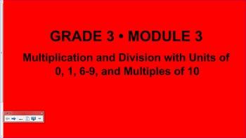Engage NY 3rd Grade Common Core Entire Math Module 3- Topics A - F