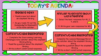 Engage NY 3rd Grade Expeditionary Learning Module 1:U1 L11 VERSION 2