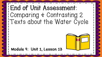 Engage NY 3rd Grade EL Module 4:  Unit 1, Lesson13