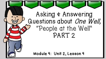Engage NY 3rd Grade EL Module 4:  Unit 2, Lesson 4