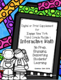 Engage NY 3rd Grade Math Module 1 Notebook: No Prep, Effic