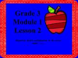 Engage NY 3rd Grade Math Module 1 Lesson 2