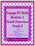 Engage NY 3rd Grade Math Module 1 Overview