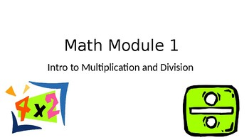 Engage NY 3rd Grade Math Module 1  PowerPoint