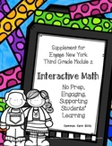 Engage NY 3rd Grade Math Module 2 Notebook: No Prep, Effic
