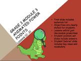 Engage NY 3rd Grade Module 3 Lessons 12-21 3.OA.5 Multiplication & Div
