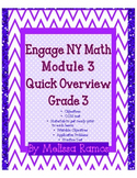 Engage NY 3rd Grade Math Module 3 Overview