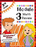 Engage NY 3rd Grade Math Module 3 Review - Multiplication & Division (6-10)
