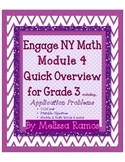 Engage NY 3rd Grade Math Module 4 Overview with Application Problems