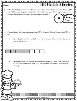 Engage NY 3rd Grade Math Module 5 Review - Fractions